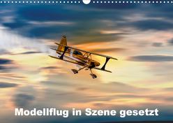 Modellflug in Szene gesetzt (Wandkalender 2020 DIN A3 quer) von Gödecke,  Dieter