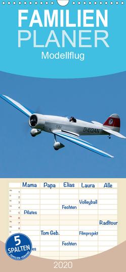 Modellflugkalender 2020 – Familienplaner hoch (Wandkalender 2020 , 21 cm x 45 cm, hoch) von Kislat,  Gabriele