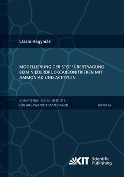 Modellierung der Stoffübertragung beim Niederdruckcarbonitrieren mit Ammoniak und Acetylen von Hagymási,  László