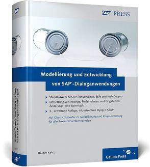 Modellierung und Entwicklung von SAP-Dialoganwendungen von Kelch,  Rainer