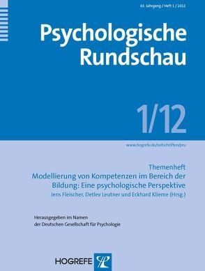 Modellierung von Kompetenzen im Bereich der Bildung: Eine psychologische Perspektive von Fleischer,  Jens, Klieme,  Eckhard, Leutner,  Detlev