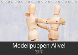 Modellpuppen Alive! (Tischkalender 2019 DIN A5 quer) von Hahn,  Jasmin