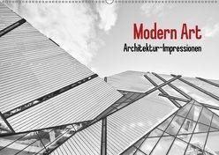 Modern Art. Architektur-Impressionen (Wandkalender 2018 DIN A2 quer) von Stanzer,  Elisabeth