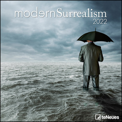 Modern Surrealism 2022 – Wand-Kalender – Broschüren-Kalender – 30×30- 30×60 geöffnet