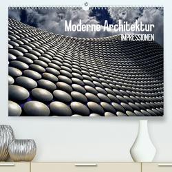 Moderne Architektur. Impressionen (Premium, hochwertiger DIN A2 Wandkalender 2021, Kunstdruck in Hochglanz) von Stanzer,  Elisabeth