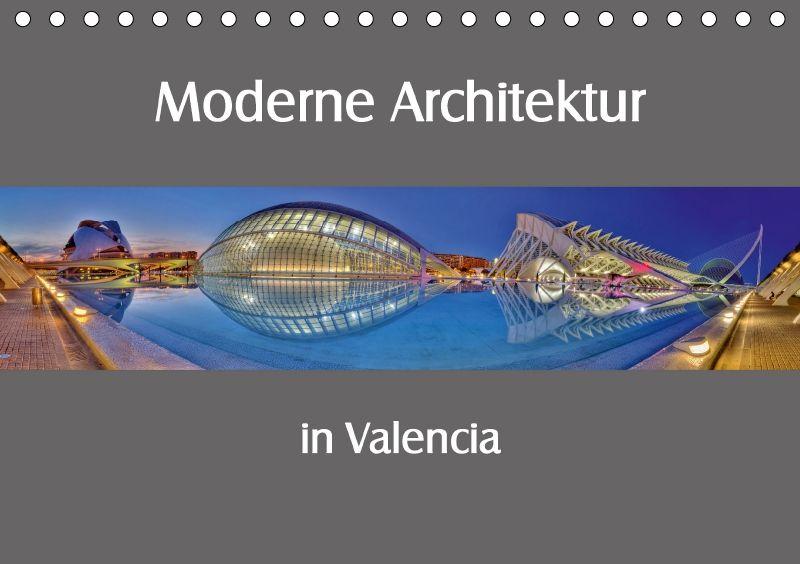 Moderne architektur in valencia tischkalender 2018 din a5 for Architektur valencia