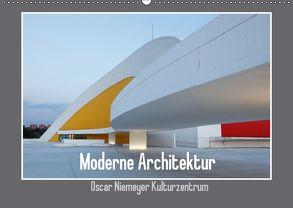 Moderne Architektur – Oscar Niemeyer Kulturzentrum (Wandkalender 2018 DIN A2 quer) von Ehrentraut,  Dirk