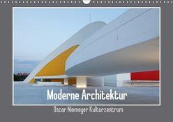 Moderne Architektur – Oscar Niemeyer Kulturzentrum (Wandkalender 2018 DIN A3 quer) von Ehrentraut,  Dirk