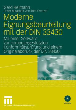 Moderne Eignungsbeurteilung mit der DIN 33430 von Frenzel,  Tom, Reimann,  Gerd