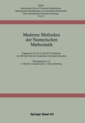 Moderne Methoden der Numerischen Mathematik von Albrecht,  J., Collatz,  L.