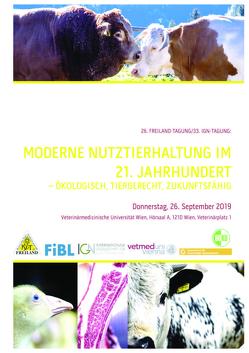Moderne Nutztierhaltung im 21. Jahrhundert: ökologisch, tiergerecht, zukunftsfähig von Gessl,  Reinhard