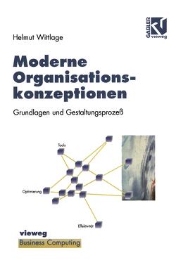 Moderne Organisationskonzeptionen von Wittlage,  Helmut