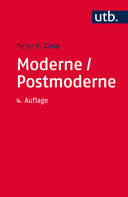 Moderne/ Postmoderne von Zima,  Peter V.