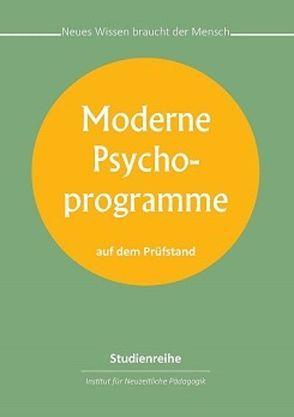 Moderne Psychoprogramme von Franzke,  Reinhard