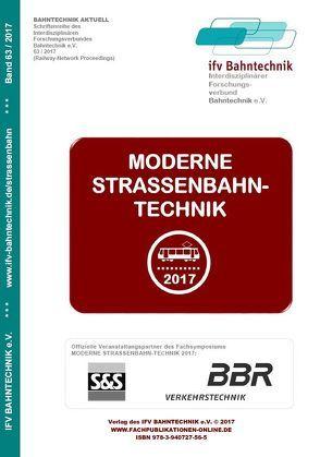 Moderne Straßenbahntechnik 2017 von Schulz,  Eckhard