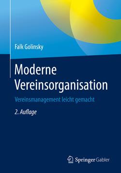 Moderne Vereinsorganisation von Golinsky,  Falk