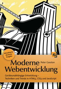 Moderne Webentwicklung von Gasston,  Peter, Kommer,  Christoph, Kommer,  Isolde