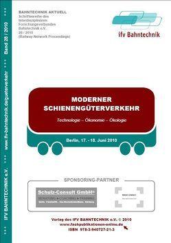 Moderner Schienengüterverkehr 2010 von Schulz,  Eckhard