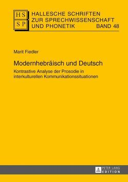 Modernhebräisch und Deutsch von Fiedler,  Marit