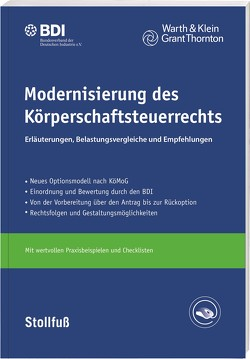 Modernisierung des Körperschaftsteuerrechts – Online