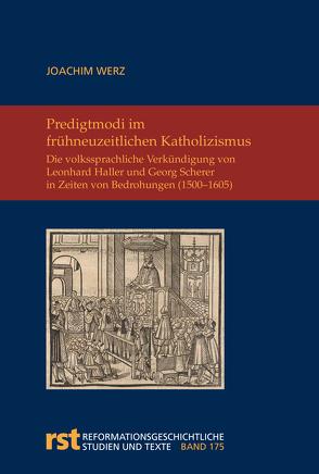 Modi praedicandi von Werz,  Joachim