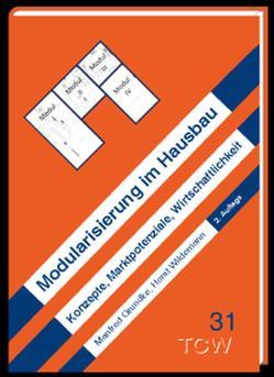 Modularisierung im Hausbau von Grundke,  Manfred, Wildemann,  Horst
