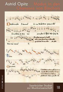 Modus in den Chansons von Binchois von Opitz,  Astrid