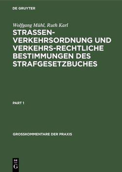 MOEHL/RUETH:STRASSENVERKEHRSORDNUNG UND STGB