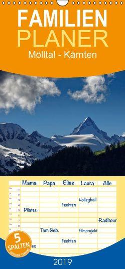 Mölltal – Kärnten – Familienplaner hoch (Wandkalender 2019 , 21 cm x 45 cm, hoch) von Trapp,  Tobias