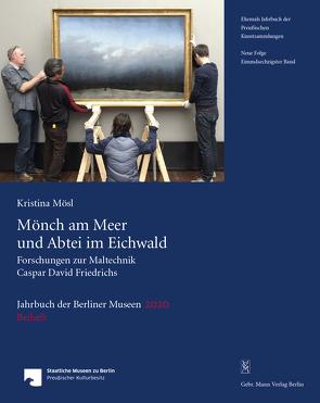 Mönch am Meer und Abtei im Eichwald von Mösl,  Kristina