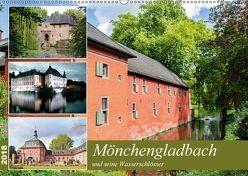 Mönchengladbach und seine Wasserschlösser (Wandkalender 2018 DIN A2 quer) von Schwarze,  Nina