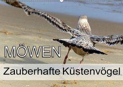 Möwen – Zauberhafte Küstenvögel (Wandkalender 2019 DIN A2 quer) von l e s . P h o t o . A r t,  Y