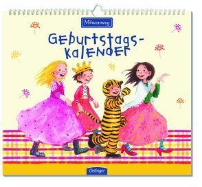 Möwenweg Geburtstagskalender von Boie,  Kirsten, Engelking,  Katrin