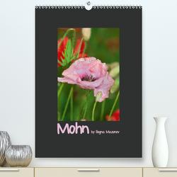Mohn (Premium, hochwertiger DIN A2 Wandkalender 2021, Kunstdruck in Hochglanz) von Mazunov,  Bogna