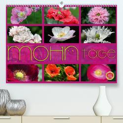 Mohn Tage (Premium, hochwertiger DIN A2 Wandkalender 2021, Kunstdruck in Hochglanz) von Cross,  Martina