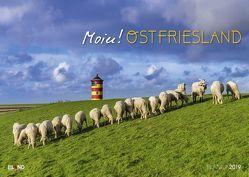 Moin! Ostfriesland – Kalender 2019 von Eiland