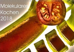 Molekulares Kochen 2018 (Wandkalender 2018 DIN A3 quer) von Heiligenstein,  Marc