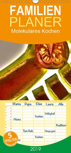 Molekulares Kochen – Familienplaner hoch (Wandkalender 2019 , 21 cm x 45 cm, hoch) von Heiligenstein,  Marc