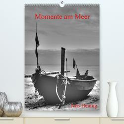 Momente am Meer – Jens Hennig (Premium, hochwertiger DIN A2 Wandkalender 2021, Kunstdruck in Hochglanz) von Hennig,  Jens