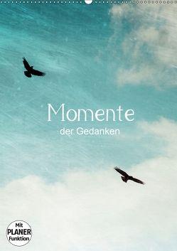 Momente der Gedanken (Wandkalender 2018 DIN A2 hoch) von Wasinger,  Renate