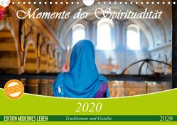 Momente der Spiritualität (Wandkalender 2020 DIN A4 quer) von Wiens,  Claudia