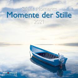 Momente der Stille 2021 – Wand-Kalender – Broschüren-Kalender – A&I – 30×30 – 30×60 geöffnet