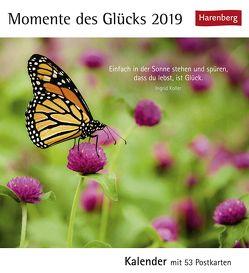 Momente des Glücks – Kalender 2019 von Harenberg