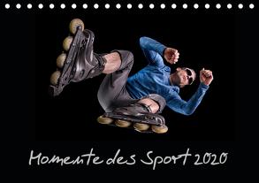 Momente des Sport (Tischkalender 2020 DIN A5 quer) von Schurr,  Stefan