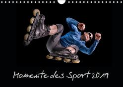 Momente des Sport (Wandkalender 2019 DIN A4 quer) von Schurr,  Stefan