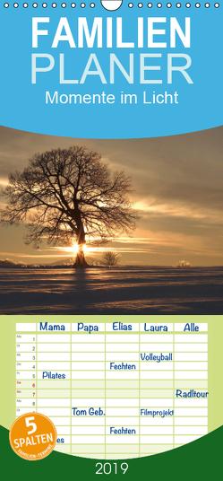 Momente im Licht – Familienplaner hoch (Wandkalender 2019 , 21 cm x 45 cm, hoch) von Engelhardt, Silvio