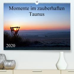 Momente im zauberhaften Taunus (Premium, hochwertiger DIN A2 Wandkalender 2020, Kunstdruck in Hochglanz) von Schiller,  Petra