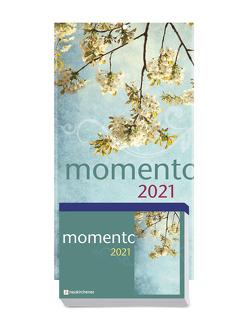 momento 2021 – Abreißkalender mit Rückwand und Aufstellfuß von Fricke-Hein,  Hans-Wilhelm, Winterhoff,  Birgit