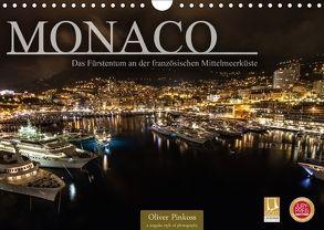 Monaco – Das Fürstentum an der französischen Mittelmeerküste (Wandkalender 2018 DIN A4 quer) von Pinkoss,  Oliver