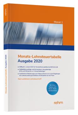 Monats-Lohnsteuertabelle 2020
